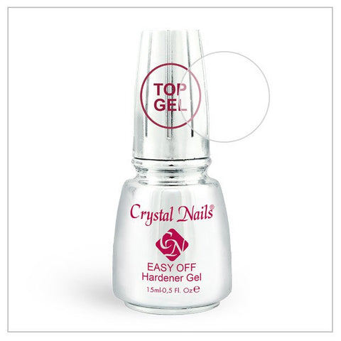 Easy Off Top Gel 0.5 fl oz - Crystal Nails US