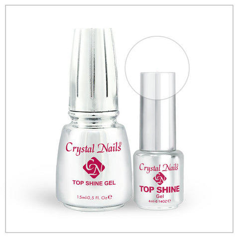 Top Shine gel - Clear - Crystal Nails US