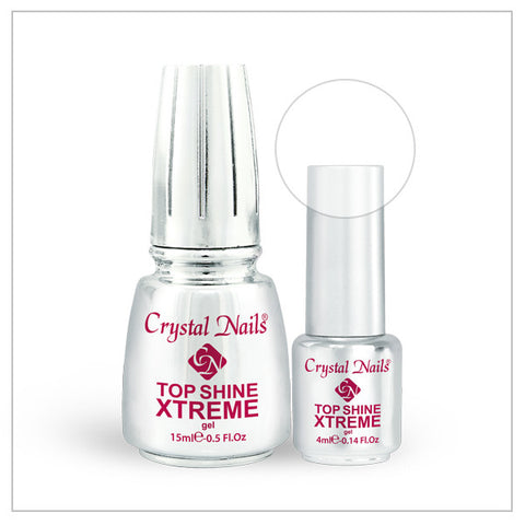 Xtreme Top Shine (Clear) - Crystal Nails US