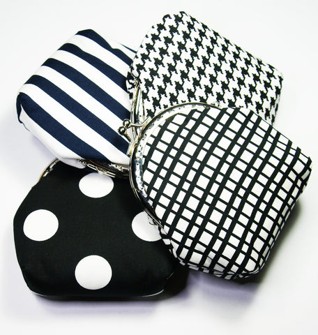 Cool Black & White Coin Purses