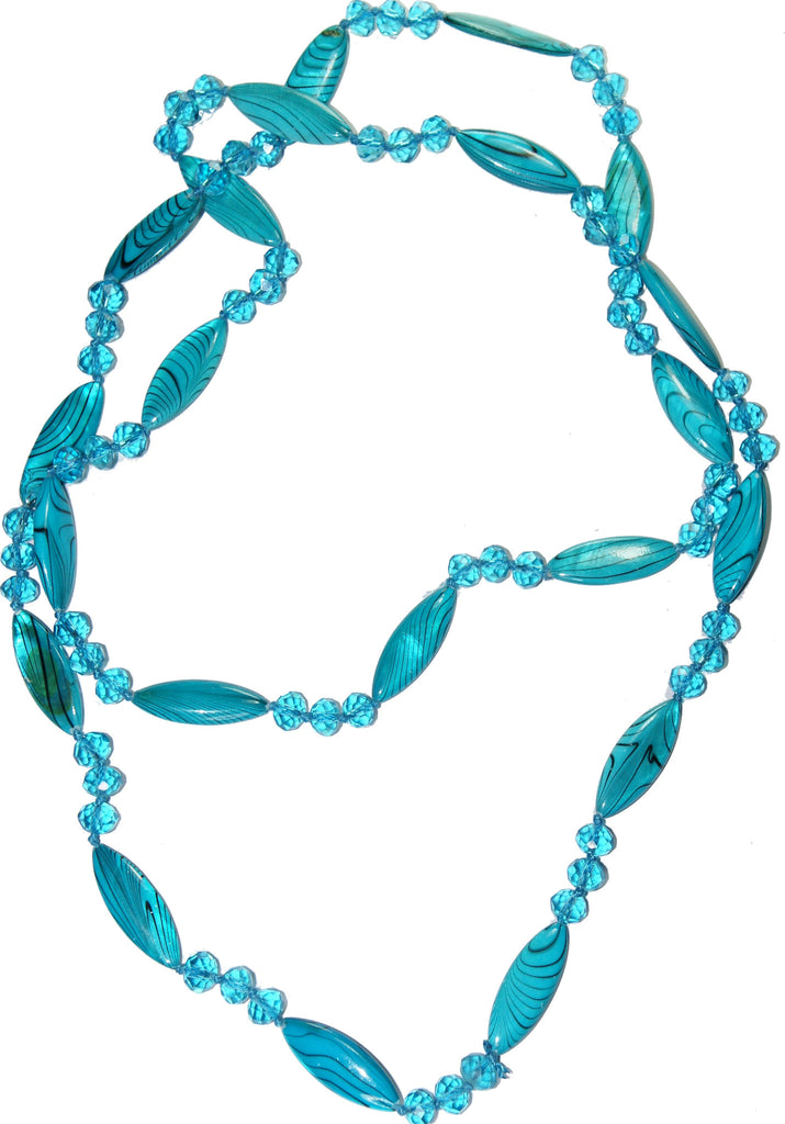 Sharp Turquoise Stones Collar