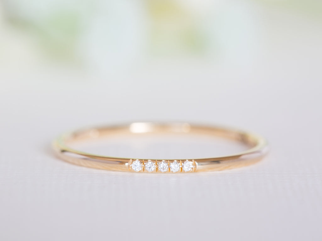 Thin Diamond Band