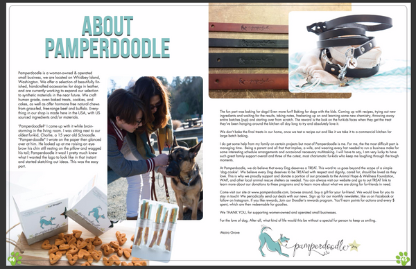 Boomer Pet Mag - About Pamperdoodle