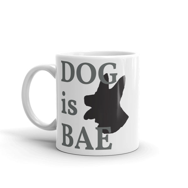 DOG is BAE Mug - Shepherd Edition from Pamperdoodle (www.pamperdoodle.com)