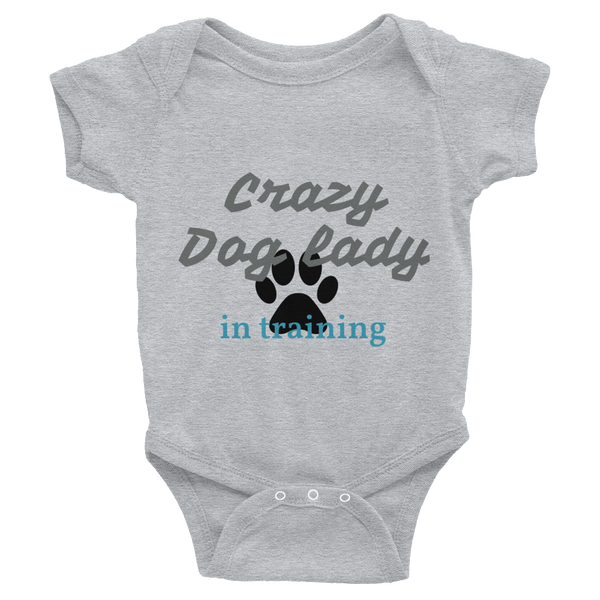 Onesie - Crazy Dog Lady from Pamperdoodle (www.pamperdoodle.com)