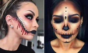 11 Creepy Halloween Makeup Ideas