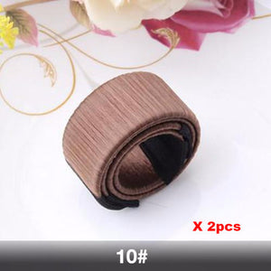 Set Of 2 Magic French Twist Hair Bun Makers - Goamiroo Store