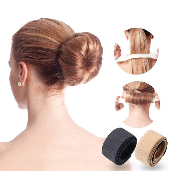 Set of 2 Magic French Twist Hair Bun Makers