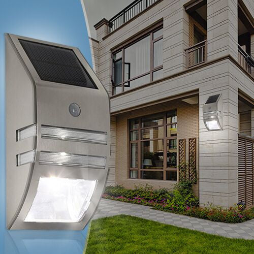 LED Motion Sensor Solar Light