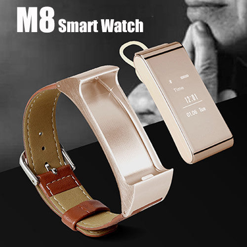 M8 Smart Watch with Detachable Bluetooth Headset