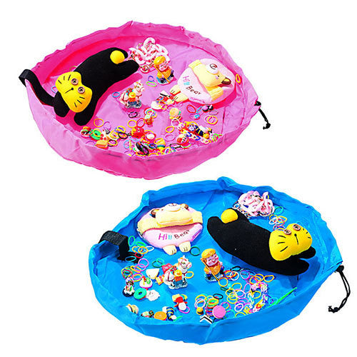 Foldable Storage Play Mat 2-Colours