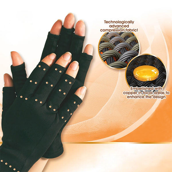 2-Pair Anti Arthritis Compression Gloves