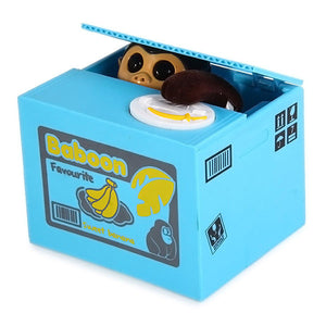 Stealing Coin Monkey Bank - Goamiroo Store