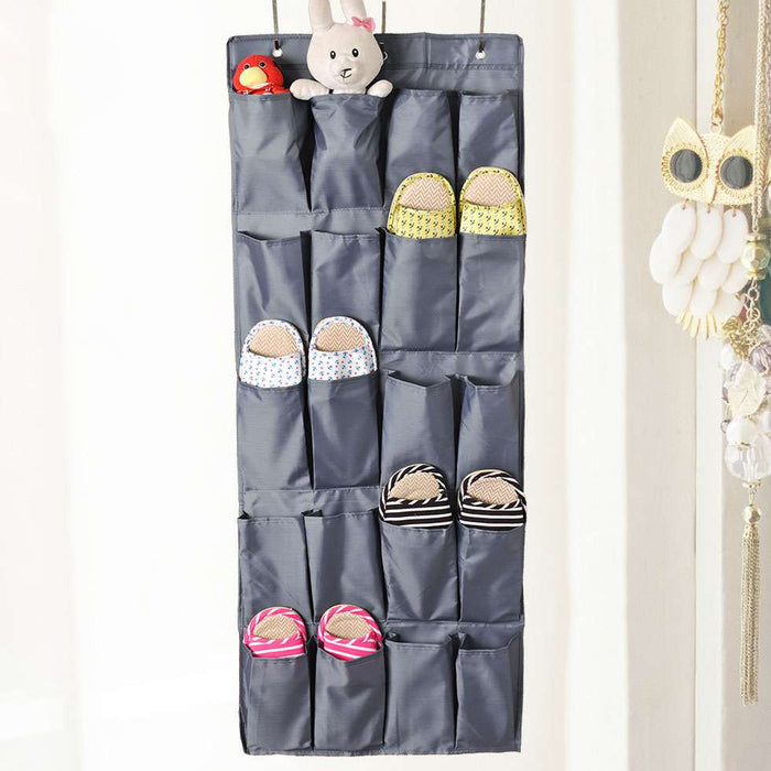 20 Pockets Over-the-Door Shoe Organizer