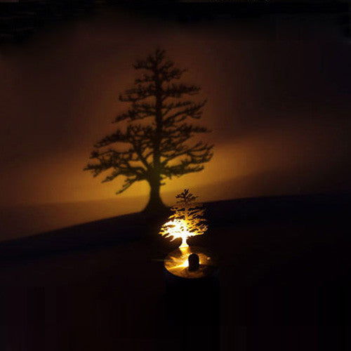 LED Shadow Projector - Pine