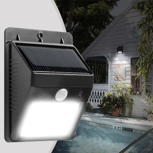 8 LED Bulbs Solar Sensor Light