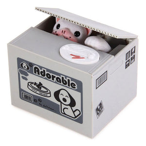 Stealing Coin Dog Bank - Goamiroo Store