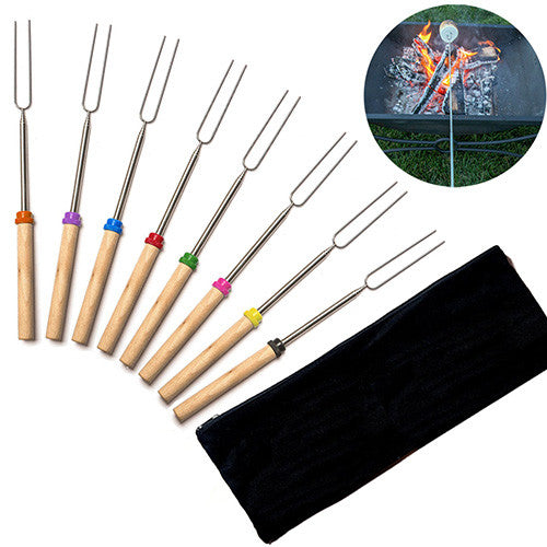 Set of 8 Roasting Sticks