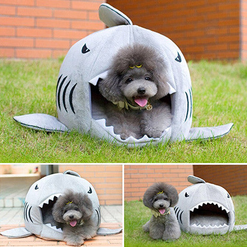 Shark Bed For Small Cat And Dog