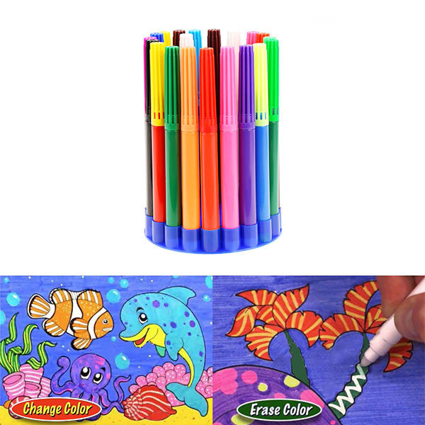 Magic Color Changing Pens