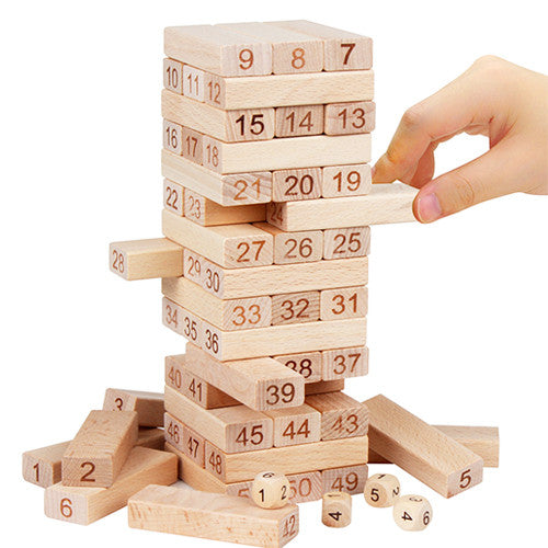 Wooden Blocks Classic Game