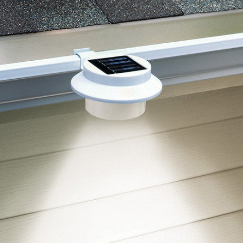 Solar Gutter Light