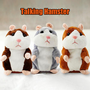 Talking Hamster Plush Toy - Goamiroo Store