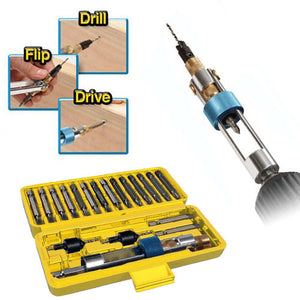 Drill Driver Time Saving Drill 20 Bits-GoAmiroo Store