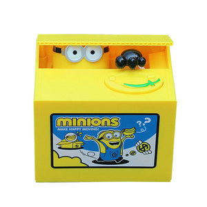 Stealing Coin Minions Bank - Goamiroo Store