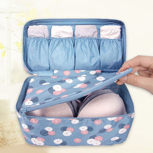 New Flower Style Travel Underwear Organiser - Goamiroo Store