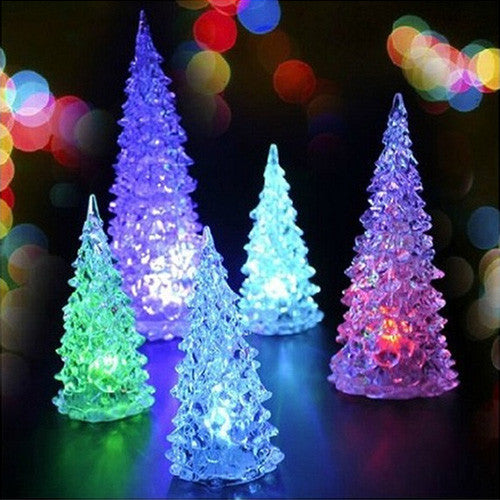 Set of 5 Mini LED Xmas Tree Style Lights