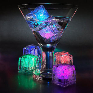Set Of 12 Led Glowing Ice Cubes - Goamiroo Store