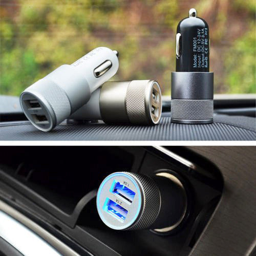 Dual USB Car Charger Port