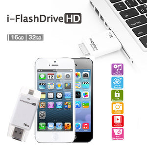 I-Flash Drive For Iphone And Ipad With Lightning Port - Goamiroo Store