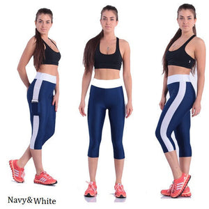 Capri Slimming Workout Pants With Side Pocket - Goamiroo Store