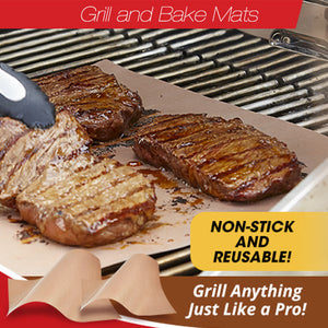 Set Of 4 Grill And Bake Mats - Goamiroo Store