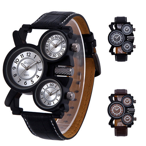 Oulm 1167 Men's Multi Display Watch - 3 Styles