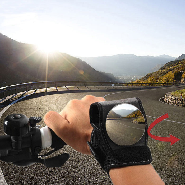 Bicycle Wrist Safety Rear View Mirror By Good Hand®Back Eye