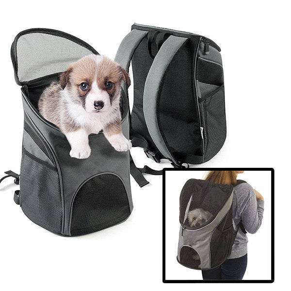 Pet Travel Backpack with Mesh Window