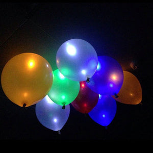 Set Of 5 Led Light Balloons - Goamiroo Store