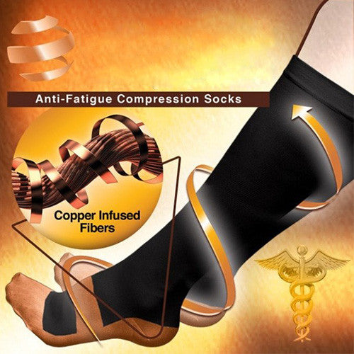 Anti Fatigue Miracle Copper Socks-GoAmiroo Store