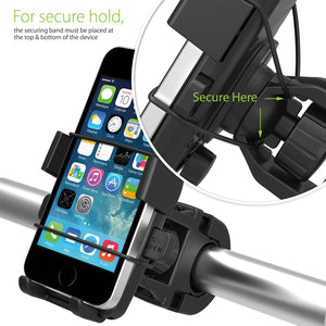 One-Touch Universal Phone Bike Mount - Goamiroo Store
