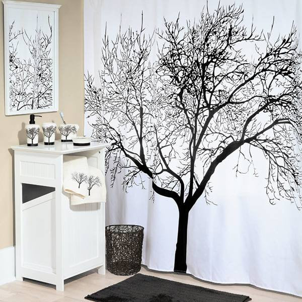 Tree Fabric Shower Curtain