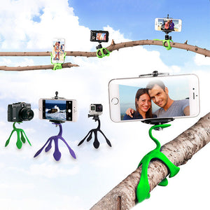 Multi-Functional Flexible Phone & Camera Tripod - Goamiroo Store