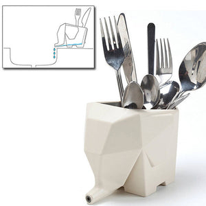 Elephant Cutlery Drainer - Goamiroo Store