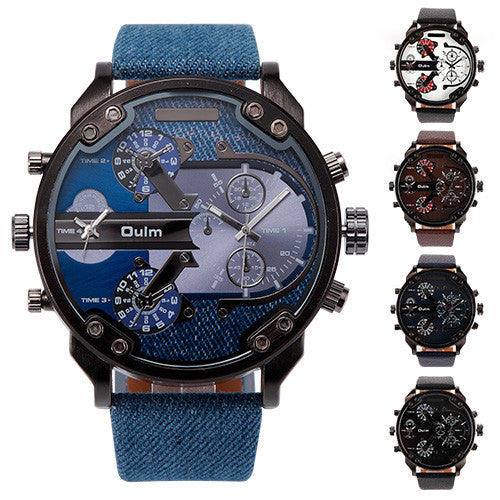 Oulm HP3548 Men's Multi Display Watch