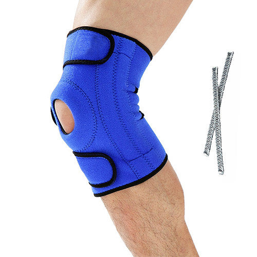 Breathable Knee Support with Steel Bones