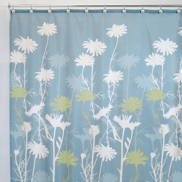 Daizy Fabric Shower Curtain - 3 Colors