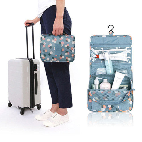Flower Style Travel Toiletry Organizer