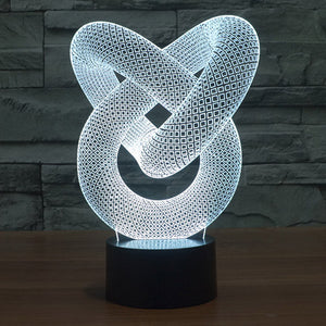 3D Illusion Night Light-GoAmiroo Store